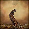 Личинка червя